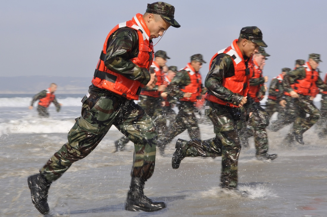 Basic Underwater Demolition/SEAL (BUD/S) Training: First Phase, Running